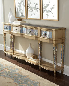 """Carlita"" Mirrored Console"