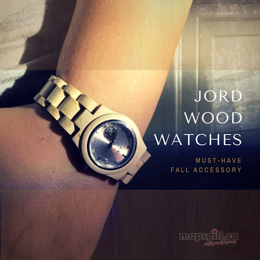 JORD Wood Watches are a must-have fall accessory! #jordwatch #fallaccessories - mapsgirl.ca
