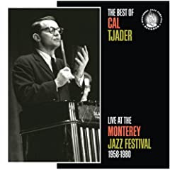 The Best of Cal Tjader: Live at the Monterey Jazz Festival 1958-1980   cover