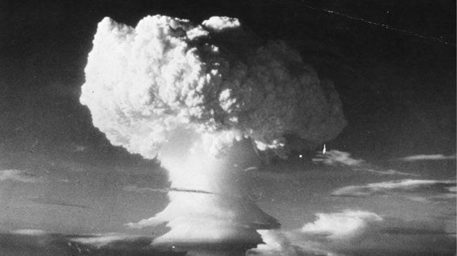 Nuvem de cogumelo em 1952