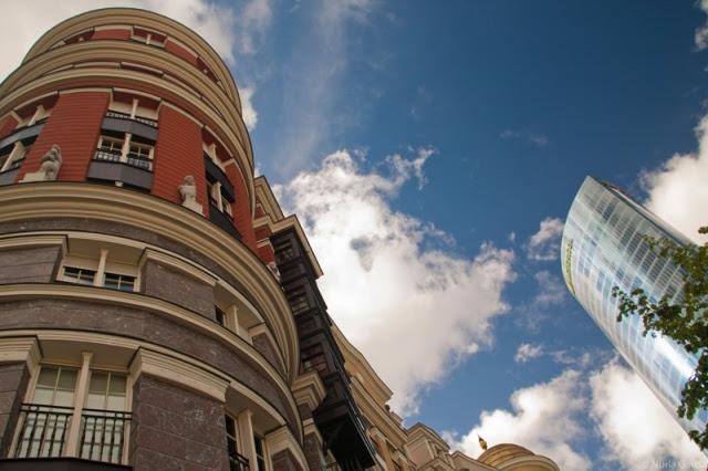 La Torre Iberdrola y uno de los edificios nuevos que mas me gustan de Bilbao