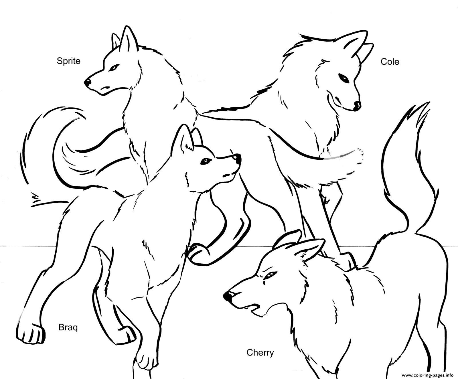 Wolves With Wings Drawing at GetDrawings | Free download