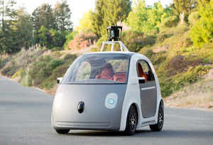 Google self-driving car meets accident, 4 injured