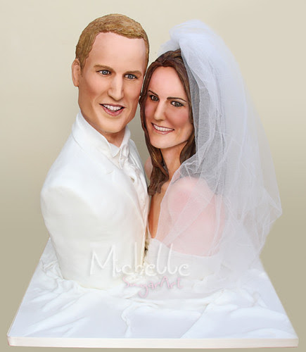 Prince William & Kate Middleton Royal Wedding Cake