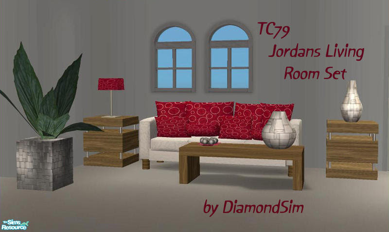 DiamondSim's TC79 Jordans Living Room Set