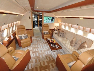 The Interior Design Of Airbus' New Corporate Jet Is Truly Ingenious