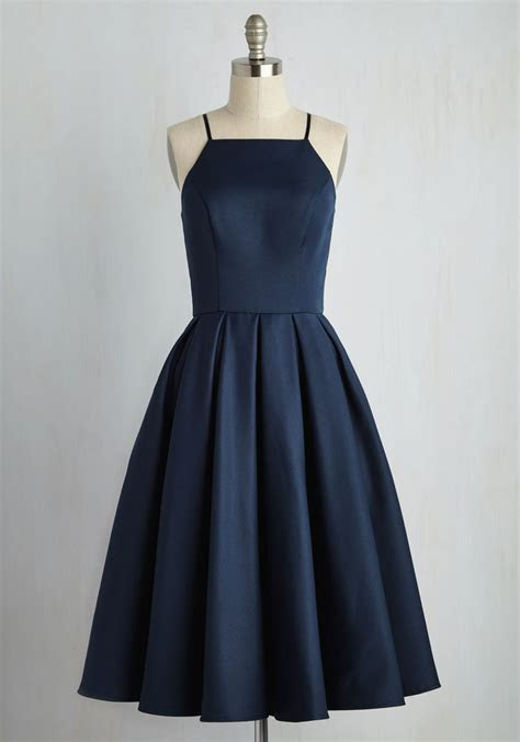 Beloved and Beyond Midi Dress   Wedding, Navy blue