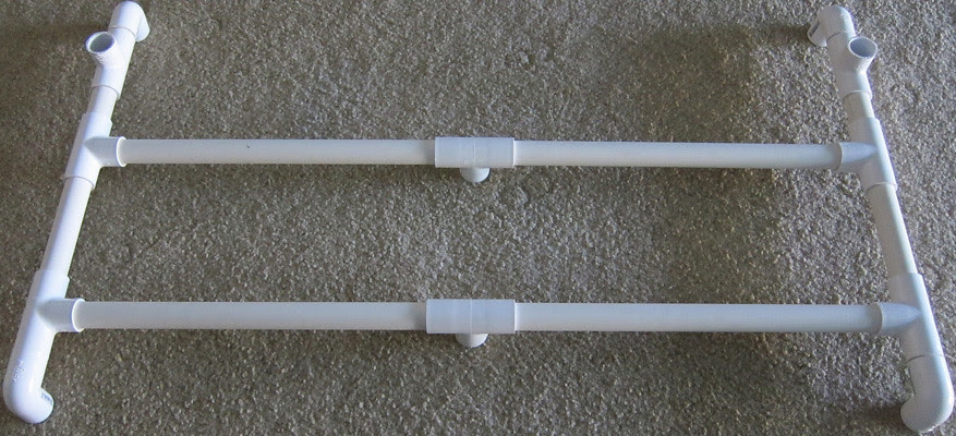 How To Make A Pvc Guitar Rack Stand