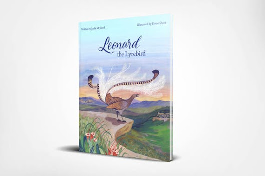 Leonard the Lyrebird pre-order Blue Mountains
