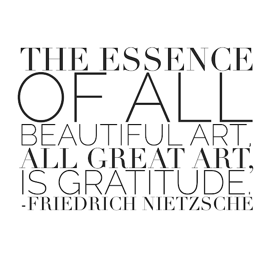 Paint Drop Artist Quote - Friedrich Nietzsche