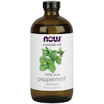 Now Foods 100% Essential Peppermint Oil - 16 fl oz bottle
