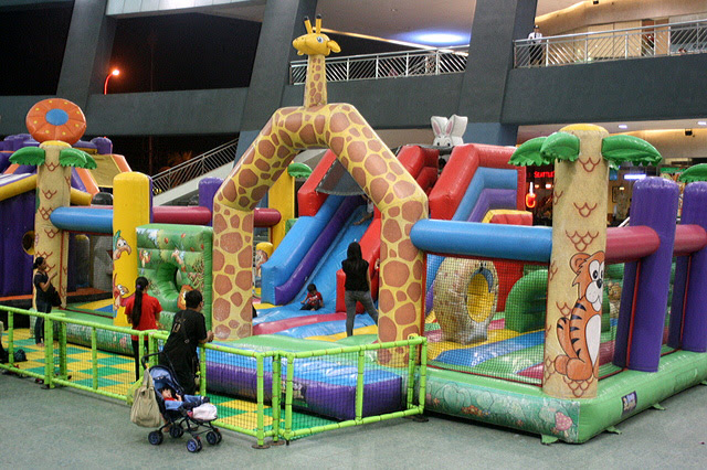 Massive bouncy castle for kids!