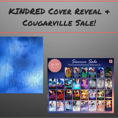Kindred Reveal & Cougarville Sale | Evangeline Anderson