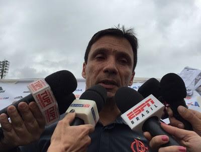Zé Ricardo Flamengo (Foto: Raphael Zarko/ Globoesporte.com)