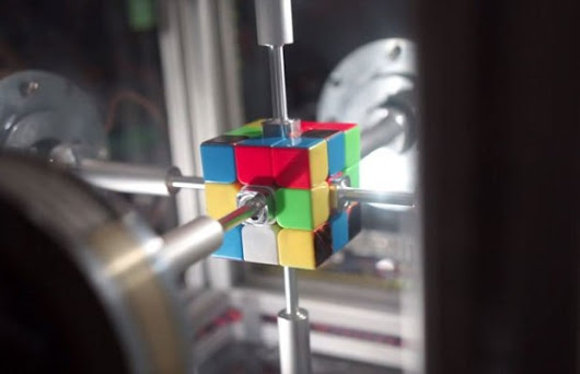This Insane Machine Just Solved a Rubik's Cube in 0.38 Seconds! - Unshootables