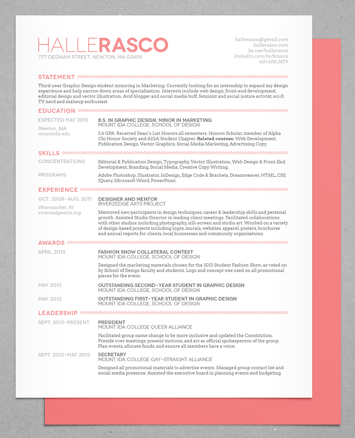 25 fresh most creative resume templates