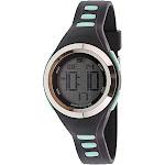 Skechers Watch SR2020 Tennyson Digital Display, Chronograph, Water Resistant, Backlight, Alarm, Black/Mint Green