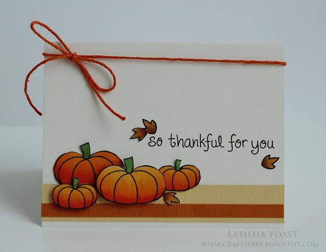 LawnFawn thankful lyoast
