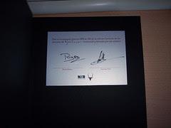 El certificado de Mecenazgo