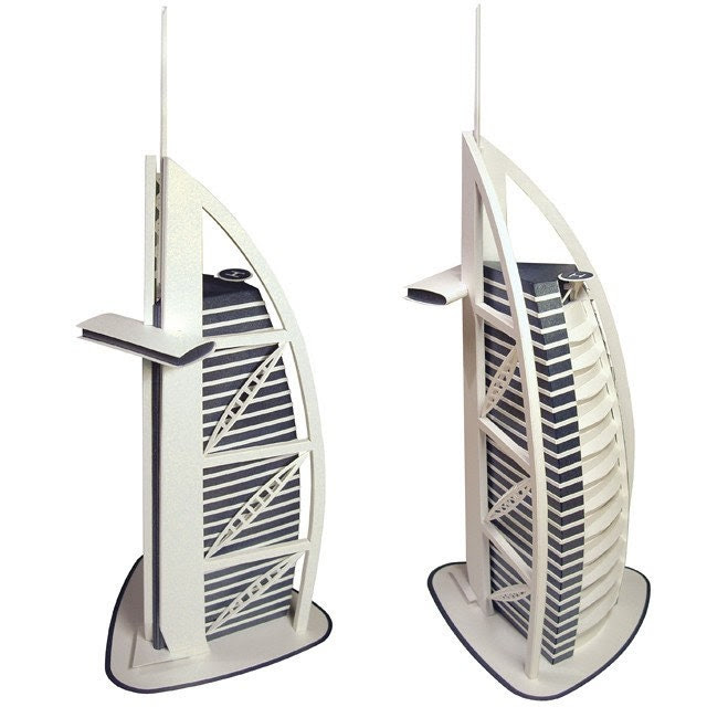 Burj al Arab Paper Model