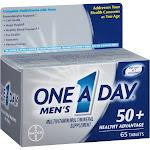 Citracal Men's Multivitamin/Multimineral, 50+ Healthy Advantage, Tablets - 65 tablets