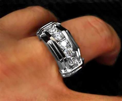 Best 25  Men's diamond rings ideas on Pinterest