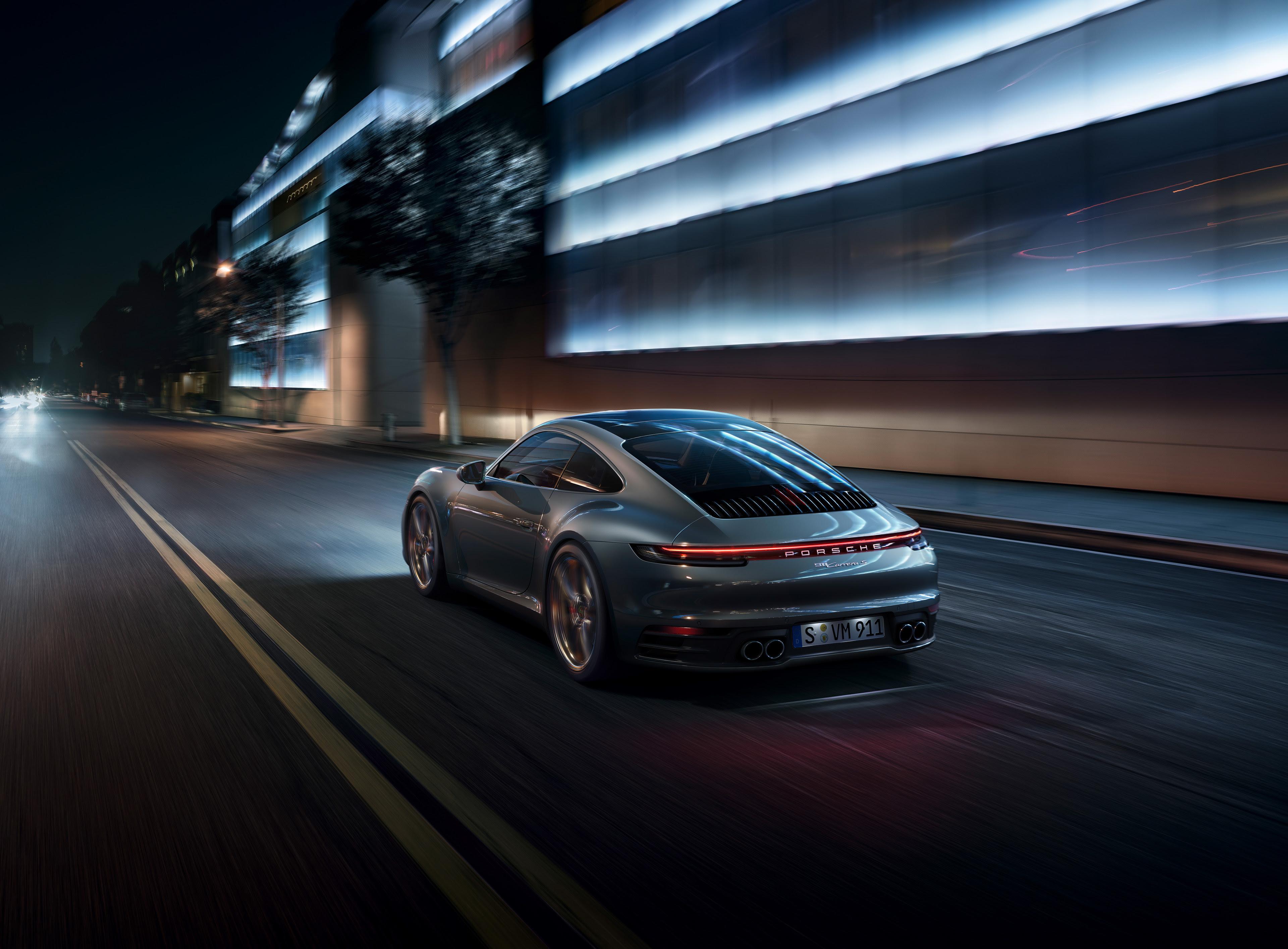 Porsche 911 Rear 4k, HD Cars, 4k Wallpapers, Images ...