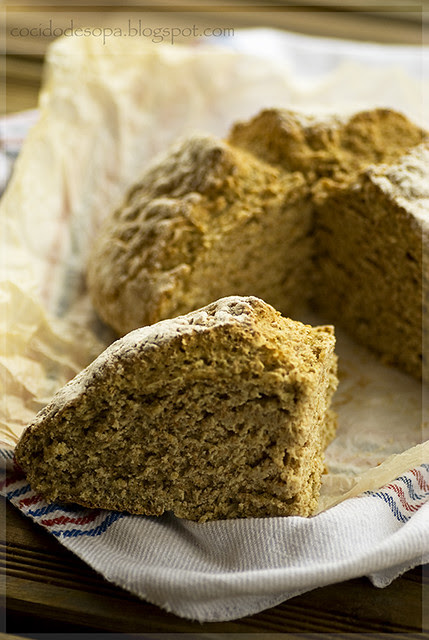 Irish soda bread-corte