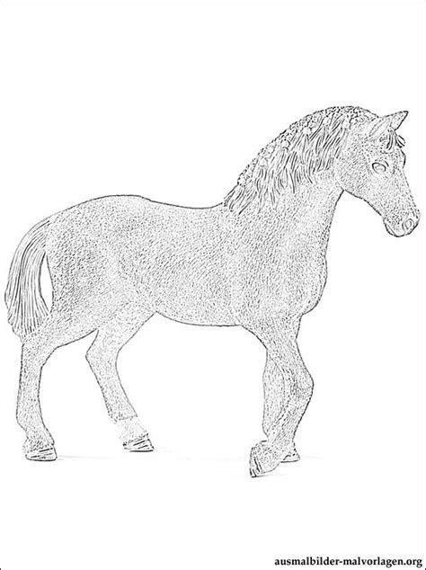 ausmalbilder pferde von schleich  kostenlose malvorlagen