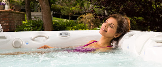 Hot Tub Therapy for Neck and Shoulder Pain Caused by Technology Use - Caldera Spas