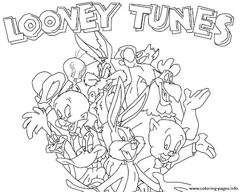 Cool Looney Tunes Coloring Pages