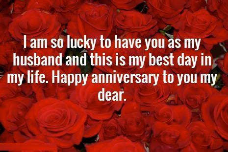 Happy wedding anniversary wishes for Husband with images