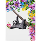 TreeFree Greetings Boho Sloth Eco Journal