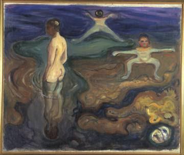 'Niños bañándose' (1897-1898), de Edvard Munch.