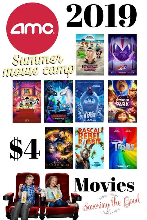 Amc Summer Movies For 1