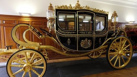 New royal coach marks state opening