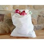 ORGANIC COTTON Reusable Bread BAGS - 6 X Large | Organic Cotton Mart