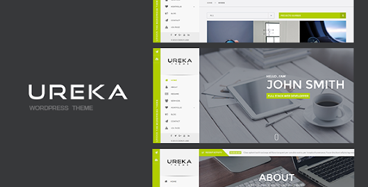Download UREKA - Responsive Vcard WordPress theme nulled | OXO-NULLED