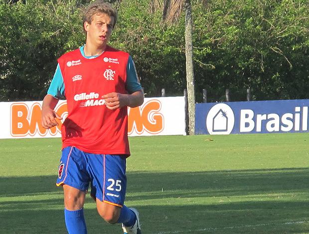 Thomas do Flamengo (Foto: Richard Souza / Globoesporte.com)