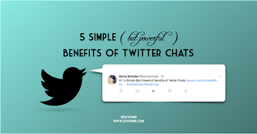 5 Benefits of Twitter Chats | Making the Most out of Twitter with Chats