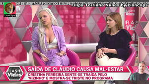 Filipa Torrinha Nunes sensual no Flash Vidas