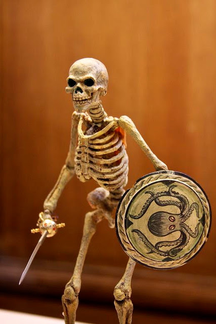 Ray Harryhausen Exhibition London Film Museum Skeleton