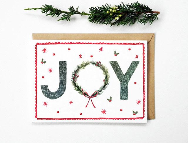 Christmas Card Joy
