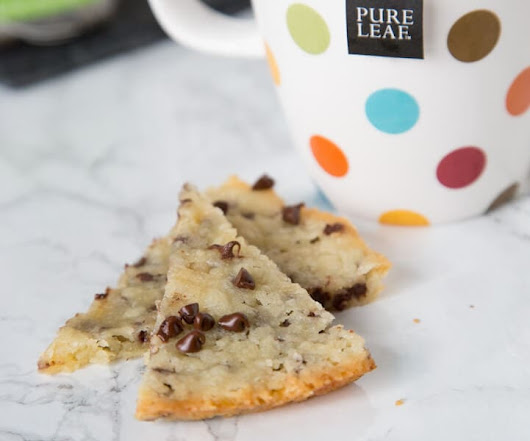 Chocolate Chip Shortbread - Dinners, Dishes, and Desserts