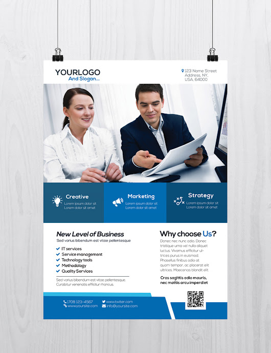 Corporate Flyer Template - Download Free PSD Flyers - Stockpsd.net