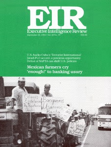 Capa da EIR Volume 20, Número 35, 10 de setembro de 1993