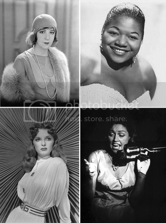 Torsh Singers, Fanny Brice, Big Maybelle, Julie London, and Anita O'Day