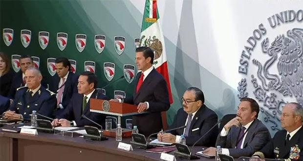 Afirma EPN que promulgará ley de seguridad interior