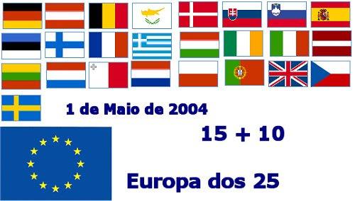 Bandeiras Europa 25