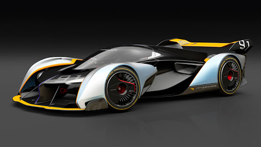 McLaren Ultimate Vision GT | 1,134-hp hybrid with a crazy driving position - Autoblog